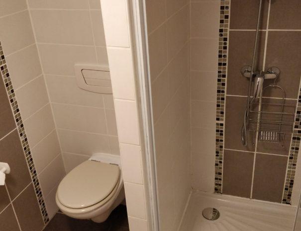 Salle de bain de la chambre d'hôtes Sioule
