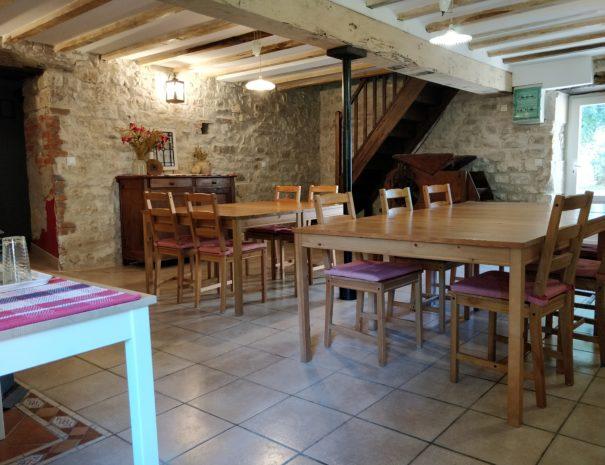 Le Moulin des Valignards - salle des repas