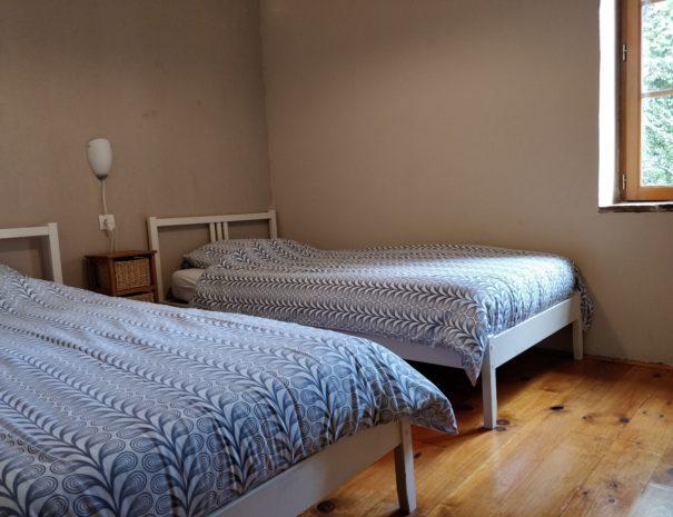 Chambre d'hôtes familiale Sioule - 2 lits une personne